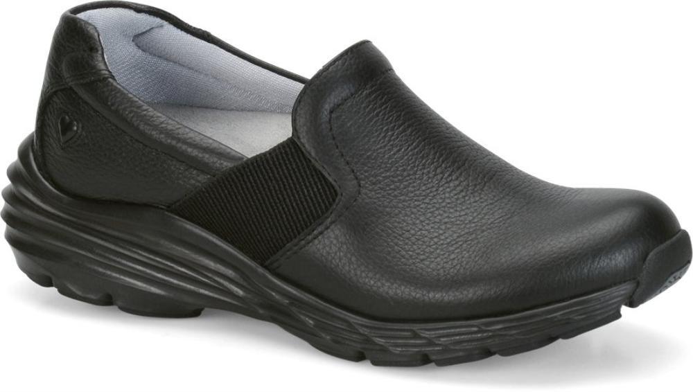 Nurse Mates Women's Harmony Black Shoe