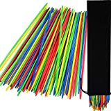 Tatuo Giant Neon Pick Up Sticks Game in Storage