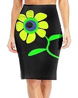 Baodaoofunky Flower Slim Vintage Pencil Skirts For Women High Waist Pencil Skirt Short Fitted Mini Skirt Bundle Packs