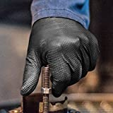 GLOVEWORKS HD Industrial Black Nitrile Gloves with