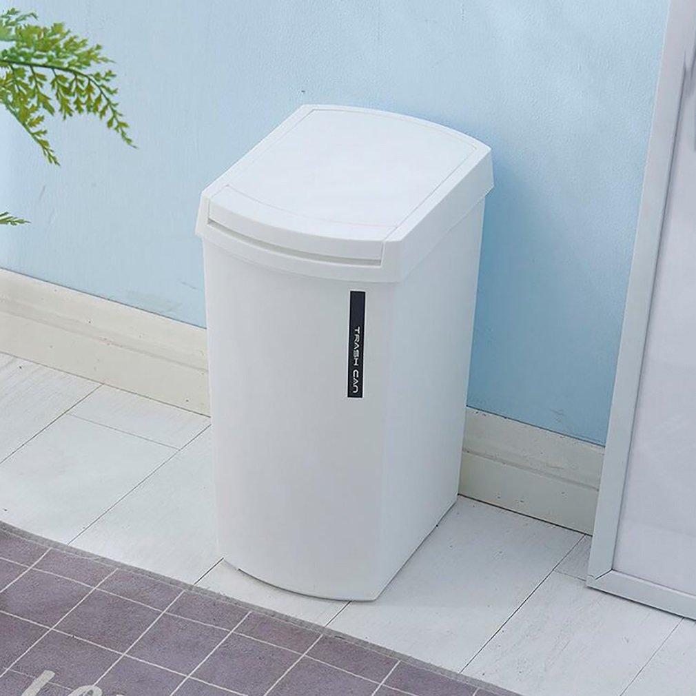 Amazon.com: FeN Creative Trash Can Plastic Household Bathroom Waste ...