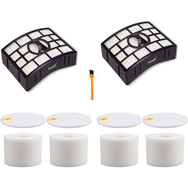 Aisen 2/× Foam Felt Filter For Shark Rotator NV680 NV680UK NV681 NV682 NV683 XFF680 Powered Lift-Away Speed Vacuum Cleaner