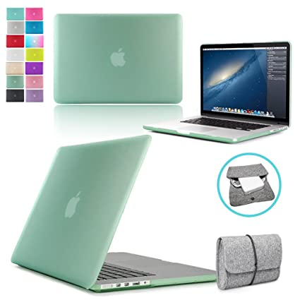 MacBook - Carcasa rígida - Cargador Funda - 13 Retina verde ...