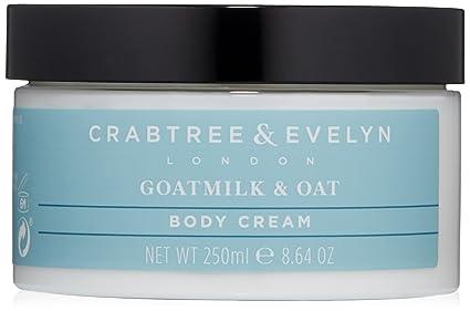 Crabtree & Evelyn goatmilk y avena crema corporal, ...