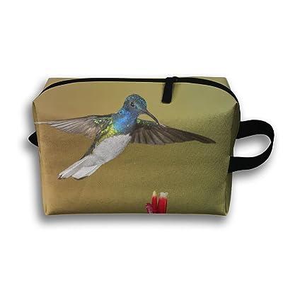 Hummingbird Kingdom Small Travel Toiletry Bag Super Light Toiletry Organizer For Overnight Trip Bag