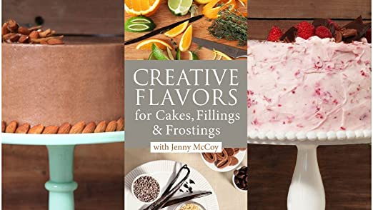 Amazoncom Creative Flavors for Cakes Fillings Frostings Jenny