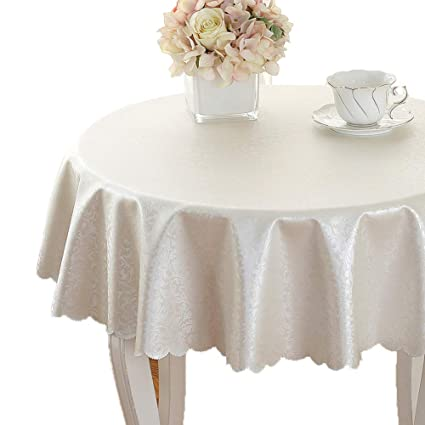 amazon com yxddg waterproofcircular table cover round rh amazon com buffet table top covers