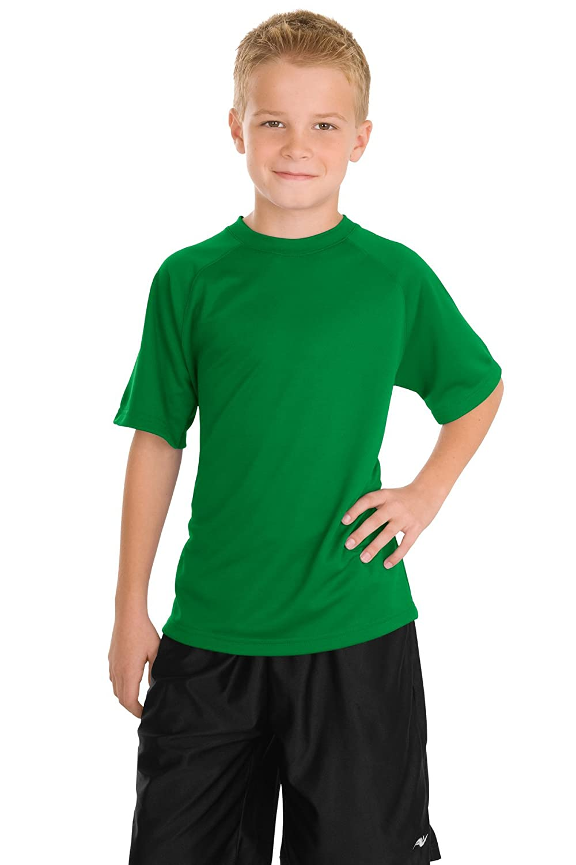 Sport-Tek Boys' Dry Zone Raglan T Shirt