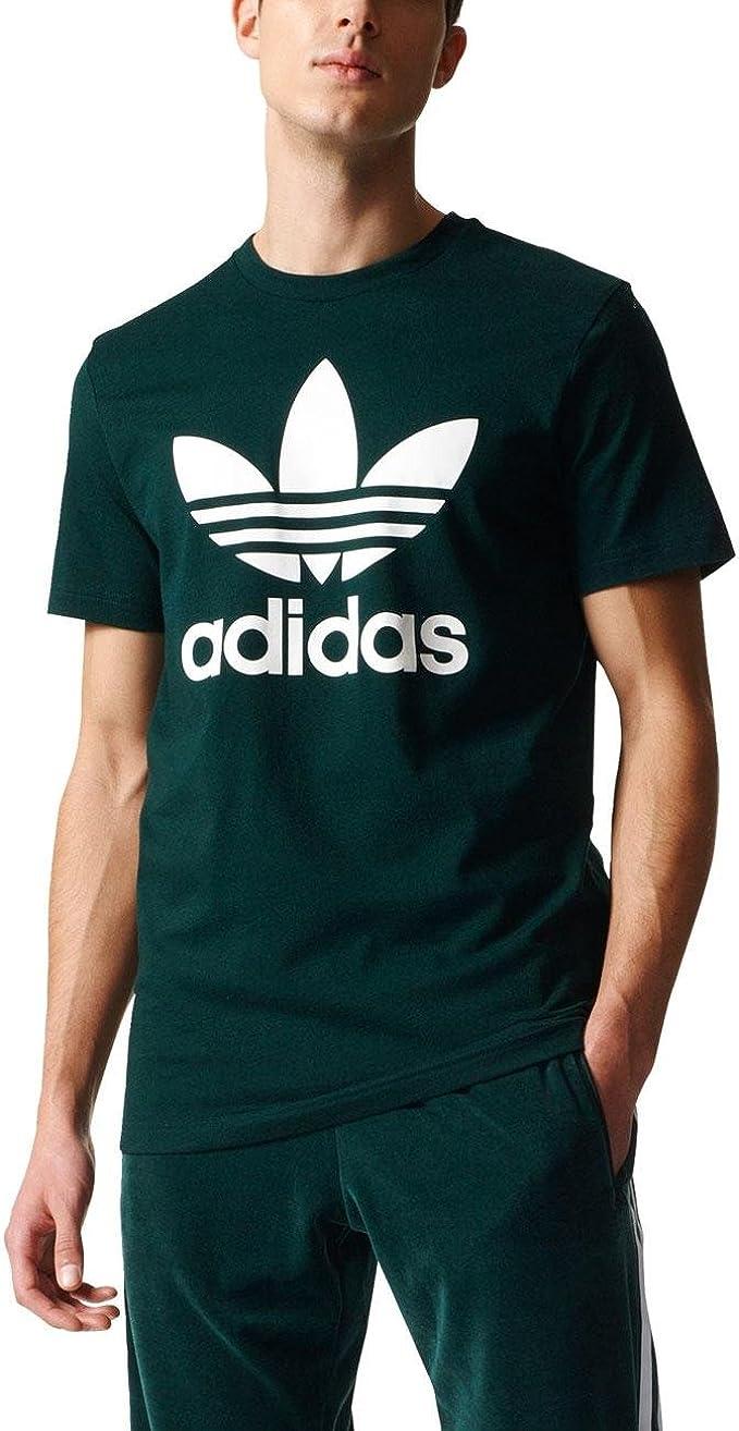 Hombre adidas Orig Trefoil T Camiseta