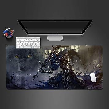 Lobo Blanco y Negro Alfombrilla de ratón Almohadilla computadora ...