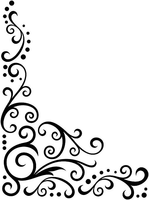 Darice Embossing Folder Cartella per Goffratura Mascherina Svolazzi a Merletto 3.5x14.5x0.3 cm