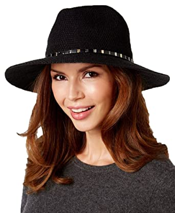 Image Unavailable. Image not available for. Color  INC International  Concepts Women s Black Mixed Metallic Packable Panama Hat f32735c2b14