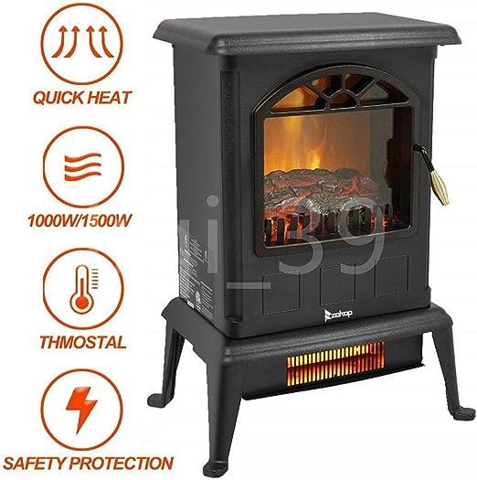 Amazon Com Wwx New 1500w Portable Electric Fireplace Space Heater