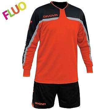 givova kitp007, Camiseta y Pantalón Corto De Fútbol Unisex Adulto: Amazon.es: Deportes y aire libre