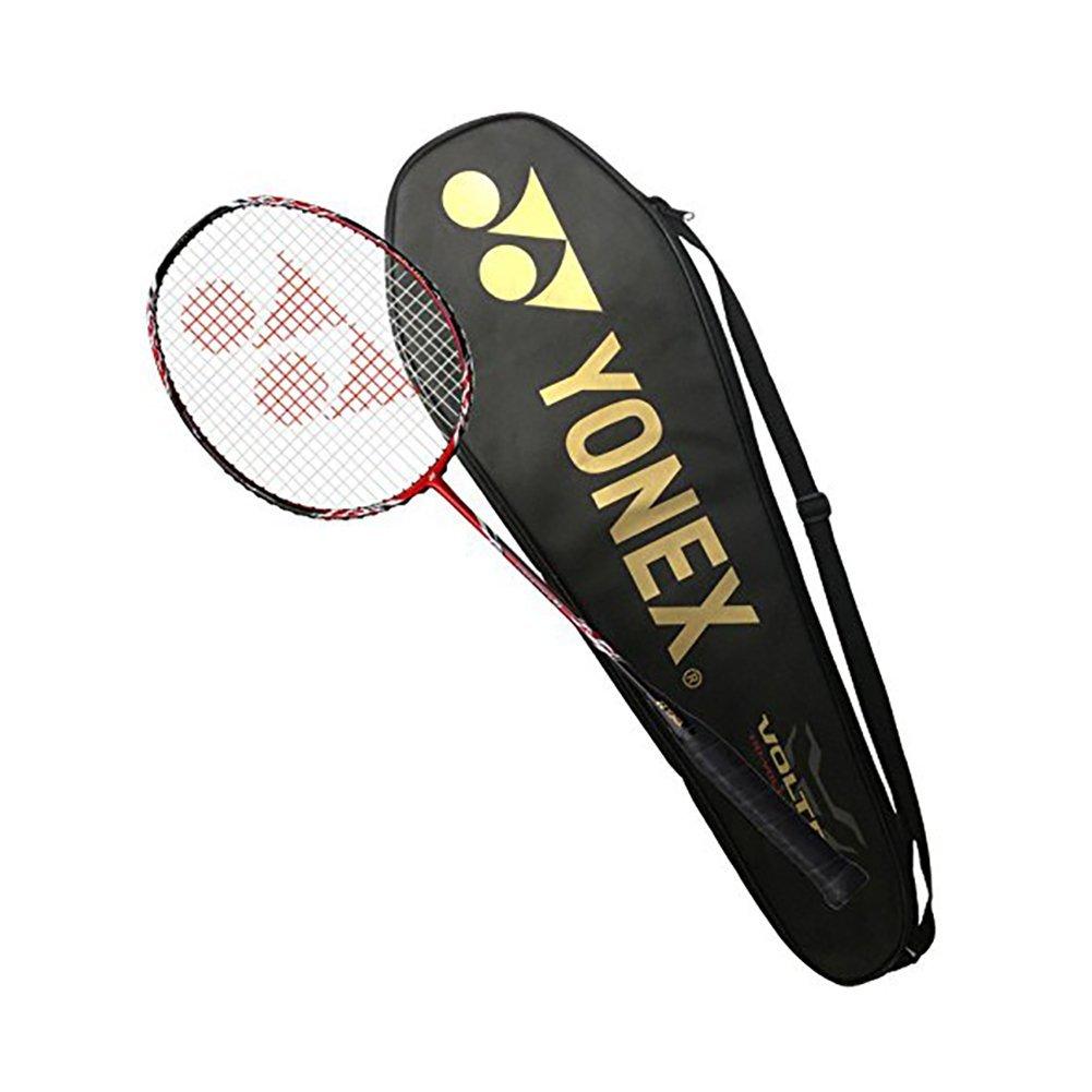 Yonex Voltric 7 Badminton Racket 2016 Vt7 Racquet 4u5g Raket Arcsaber Grade Super Pre Strung Sports Outdoors