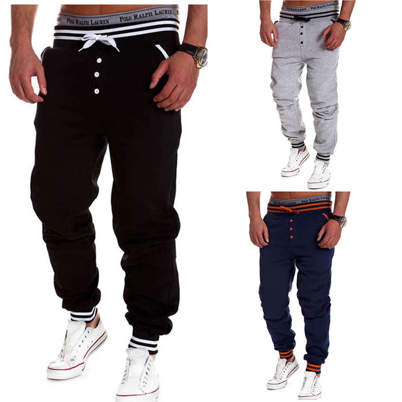 Aancy Mens Casual Sweatpants Sportswear Hiphop Sweatpants Casual Bodybuilding Trousers Male Streetwear Clothes Outwear