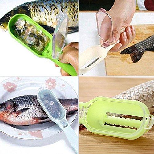 Scales Cleaner Peeler,Scraping Kill Fish With Plastic Fish Fish Skin Steel