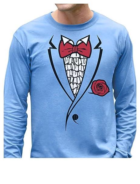 Amazon.com: Tstars Retro Prom Tux - Printed Suit & Bowtie Tuxedo ...