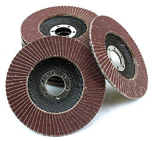 """Generic YC-AUS2-150916-33 <8&13811> ng Discm Oxide Fla Oxide Flap Disc 10pc 4-1/2"""" Grinding Wheel 80 Grit Flat Aluminum Sanding Disc 10pc 4-1/2"""" Review"""