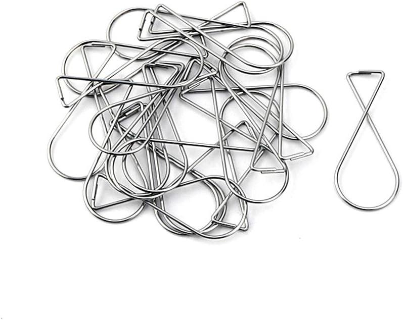 Guangcailun 100pcs Deckenhaken aus Metall Tropfen Rasterdecke Clips T-bar Squeeze-Aufh/änger H/änge Hinweisschilder