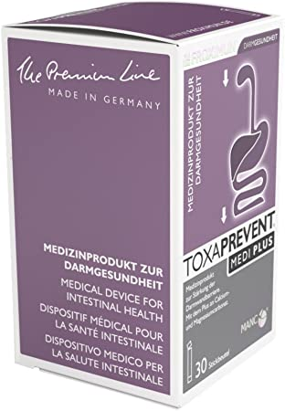 TOXAPREVENT MEDI PLUS - Palillos de 30 x 3 g, color natural: Amazon.es: Salud y cuidado personal