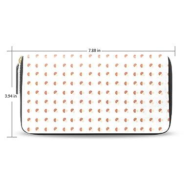 Amazon.com: Minipilletera de cuero rojo para mujer, con ...