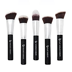 4. Kabuki Makeup Brush Set
