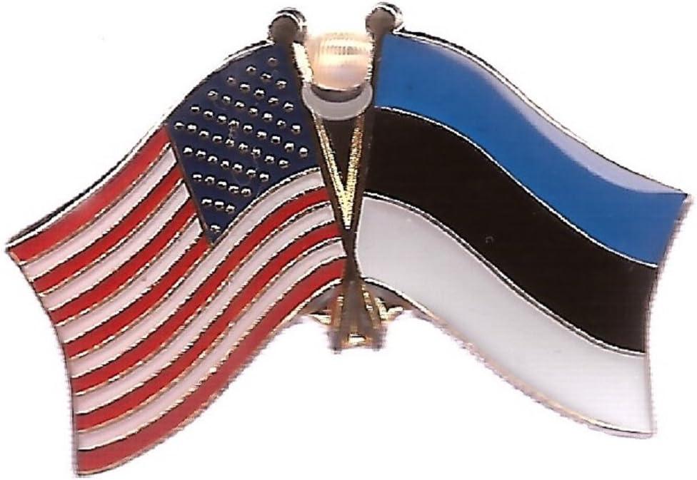 Estonia Flag Lapel Badge 95 Pin