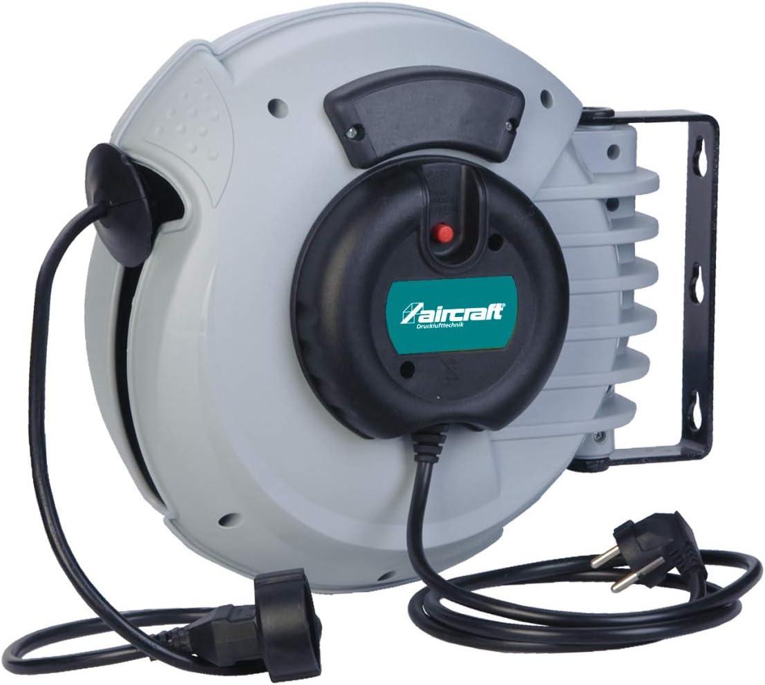 Aircraft automatique Enrouleur de câble Kar pro 3x1,5 10 mètres 230v