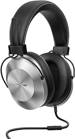 Pioneer SE-MS5T-S - Auriculares de tipo diadema (HiRes, power bass ...