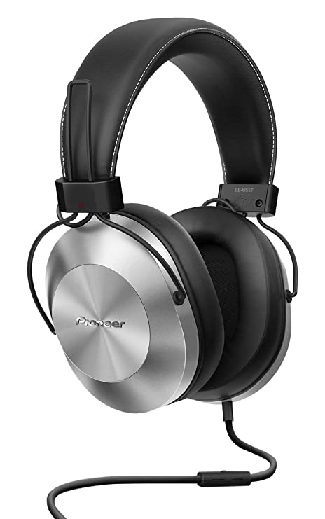 Pioneer Hi Res SE-MS5T-S Cuffie stereo con Filo e Microfono per ricevere 62d027280464