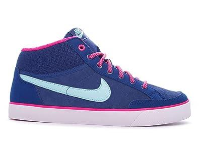 brand new 13e6a a954d Nike Capri 3 MID LTR (GS) Schuhe insignia blue-cp-vivid pink-white ...