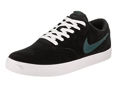 in stock 29da9 2a13f Image Unavailable. Image not available for. Color  Nike Men s SB Check  Solarsoft Skate Shoe (8.5 D(M) US, Black