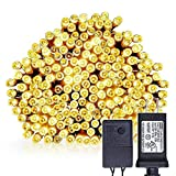 Blinngo LED Waterproof String Light, 30M 98ft 200LED Fairy Lights for for Indoor, Outdoor, Yard, Garden, Home, Path, Chrismas Day, Landscape, Wedding, Party, Holiday Decoration (Warm White)