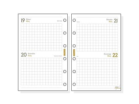 Amazon.com: Finocam – Recambio anual 2020 2 Day Page Classic ...