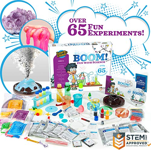 (Learn & Climb Over 65 Experiments Kit, How-to DVD and Instruction Manual.Year-Round Fun Educational Science Activities ...)