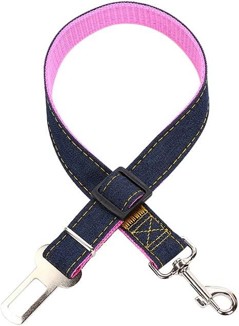Kayi Pet cinturones de seguridad ajustables vehículos de coche ...