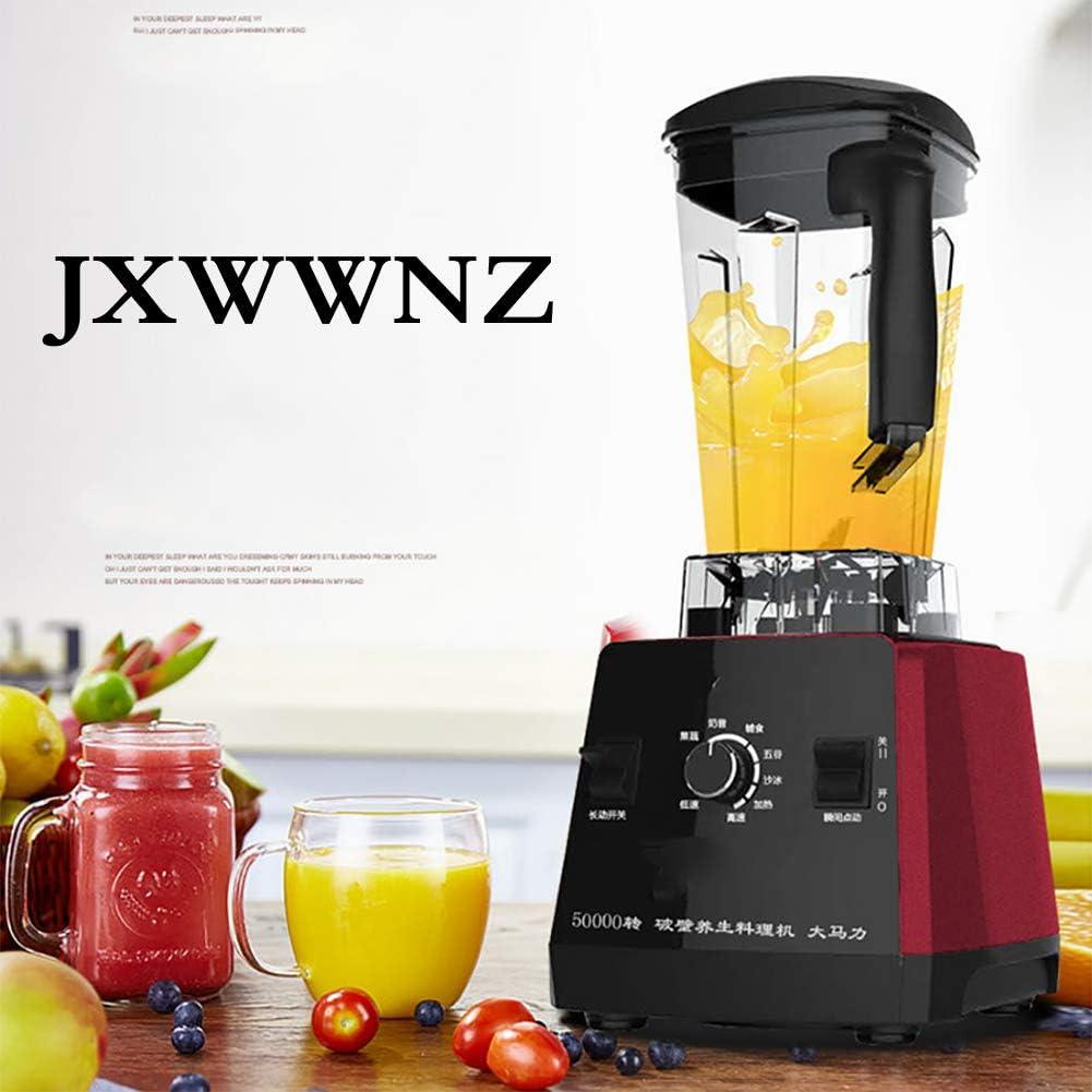JXWWNZ Licuadora Profesional 1000W, Batidora de Vaso, Batidora Smoothie con Velocidad Continuamente Variable, 7 Programas Preestablecidos y 1.75 litros Jarra Tritan, 50.000 U/min, sin BPA.: Amazon.es: Deportes y aire libre
