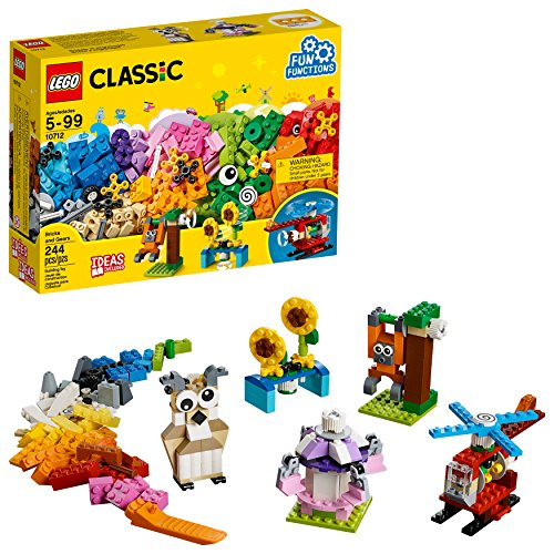 LEGO Classic Bricks and Gears 10712 Building Kit (244 -