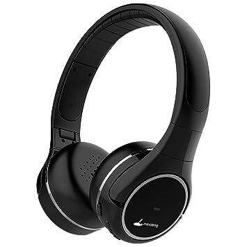 Meidong Auriculares Cancelacion Ruido Activa, Bluetooth Inalámbricos Cascos Cancelacion de Ruido, Noise Cancelling Auriculares