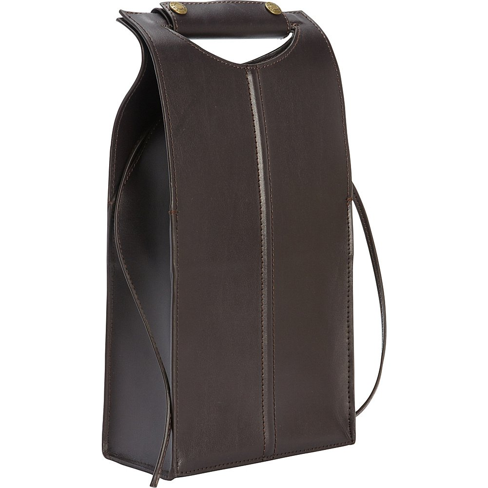 Clava Leather Two Bottle Carrier (Cafe)