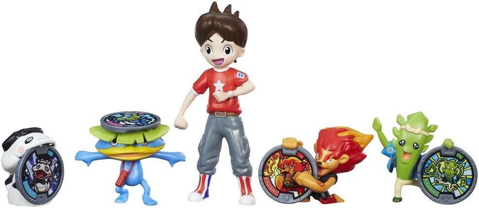 Yokai - Pack de 5 figuras Nate y los Yo-Kai (Hasbro B8803EU5)