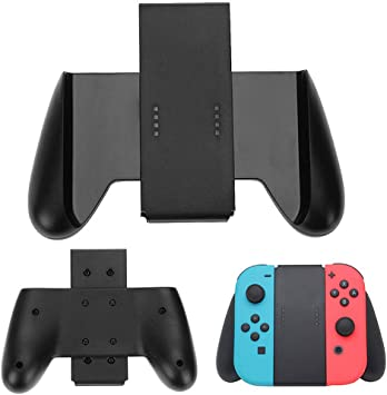 TUTUO Switch Joycon Soporte Joy-con Comfort Grip (Negro): Amazon ...