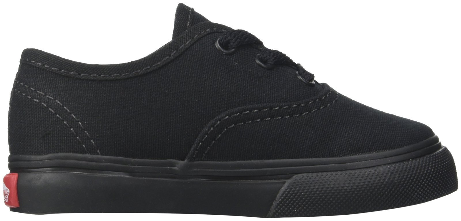 e3731955671b7 Galleon - Vans Kids' Authentic Shoes,Black/Black,5.5
