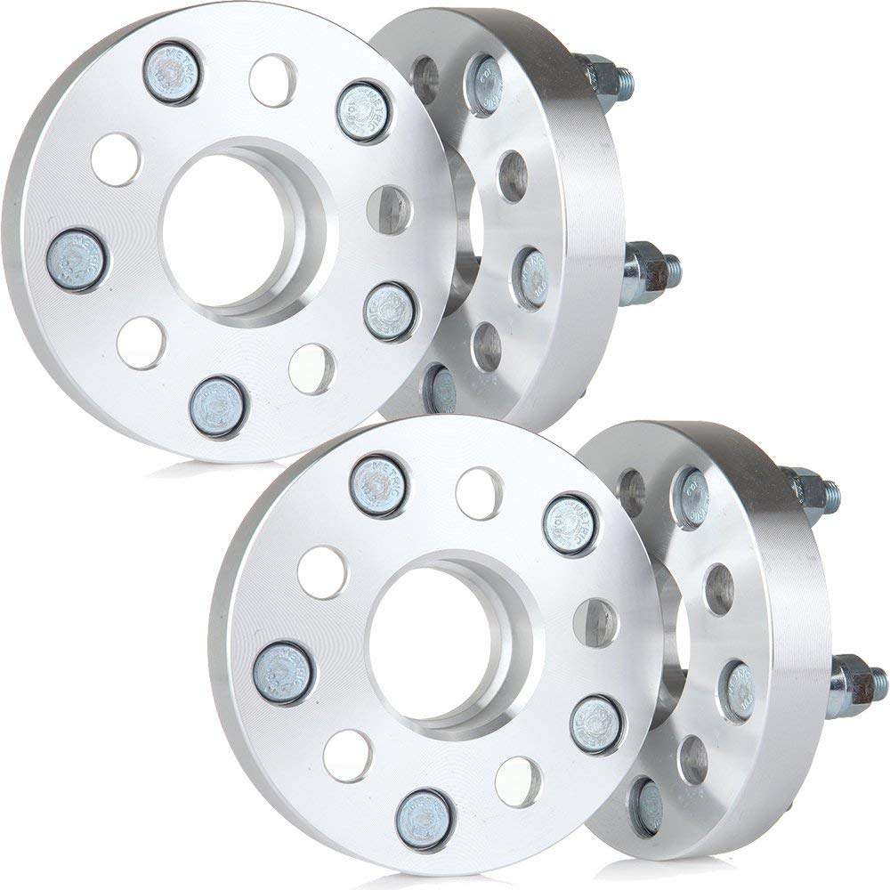 | 5x100 to 5x114.3 HUBCENTRIC Wheel Spacers Adapters 56.1 bore For Subaru Forester Saab 9-2X Scion ECCPP/® 4PC 25mm 1