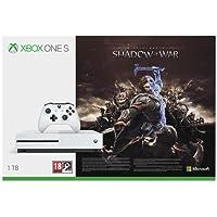Xbox One S - Consola 1 TB + Sombras De Guerra + Game Pass (1M)