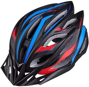 ILKJ Hombre MTB Cascos Bici, Carretera Mujer Ciclismo Casco con ...
