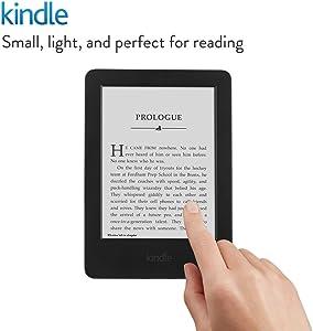 """Kindle, 6"""" Glare-Free Touchscreen Display, Wi-Fi"""