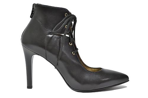 NERO GIARDINI Decolte' stringate nero 6381 scarpe donna elegante mod. A616381DE