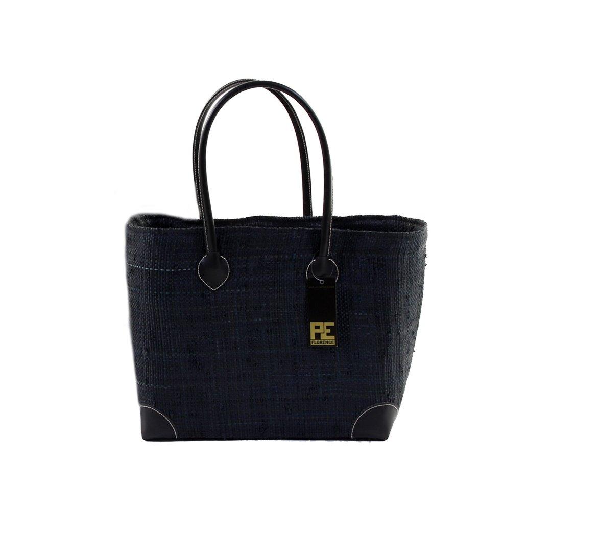 PE Florence Korbtasche Hangara Black XL Einkaufskorb Gr
